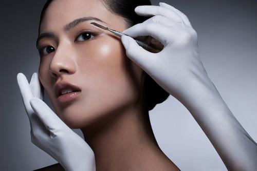 Beauty Test.   Makeup: Virgina Chen Model:Yun Jie Zhang